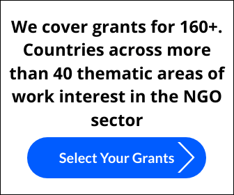 We cover grants