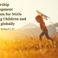 Global Call for Organizations Serving Children and Youth (in Education, Health and Wellbeing, Children's Rights)
